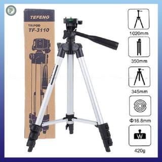 Gậy 3 chân chụp ảnh tripod kiêm giá đỡ điện thoại, máy ảnh – Gậy 3 chân chụp ảnh tripod livetream, quay tiktok