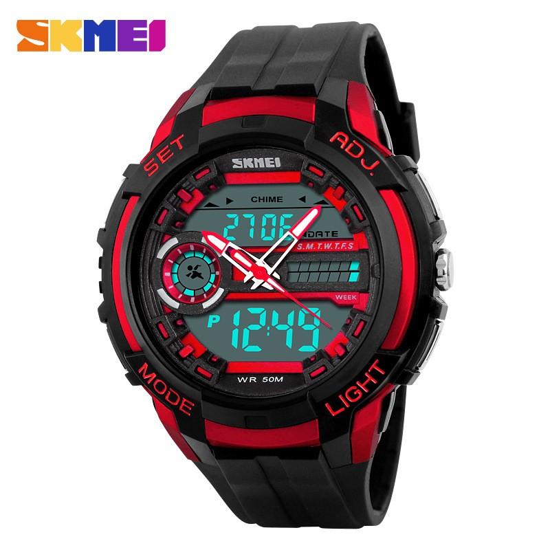 Đồng hồ thể thao nam Skmei 2 máy (đỏ đen) - 3185922 , 304378918 , 322_304378918 , 300000 , Dong-ho-the-thao-nam-Skmei-2-may-do-den-322_304378918 , shopee.vn , Đồng hồ thể thao nam Skmei 2 máy (đỏ đen)