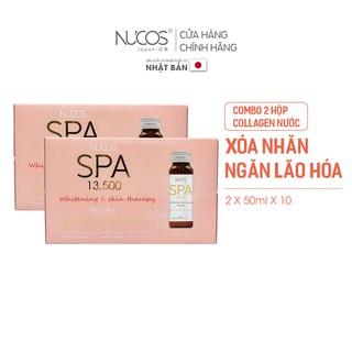 Combo 2 Hộp Collagen nước xóa nhăn ngăn lão hóa da Nucos Spa 13500 2 Hộp x 10 Chai x 50ml thumbnail