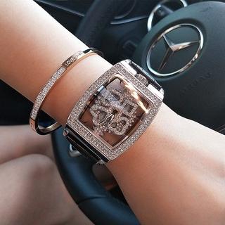 Đồng hồ nữ Mernots Mobangtuo hàng chính hãng dây da mặt xoay