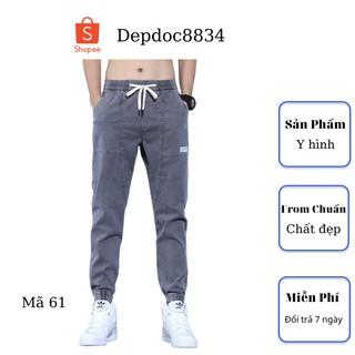 Quần jean nam cao cấp, chất liệu bò ( jean ) mềm mịn, from chuẩn, có nhiều mẫu đẹp mới đi kèm depdoc02