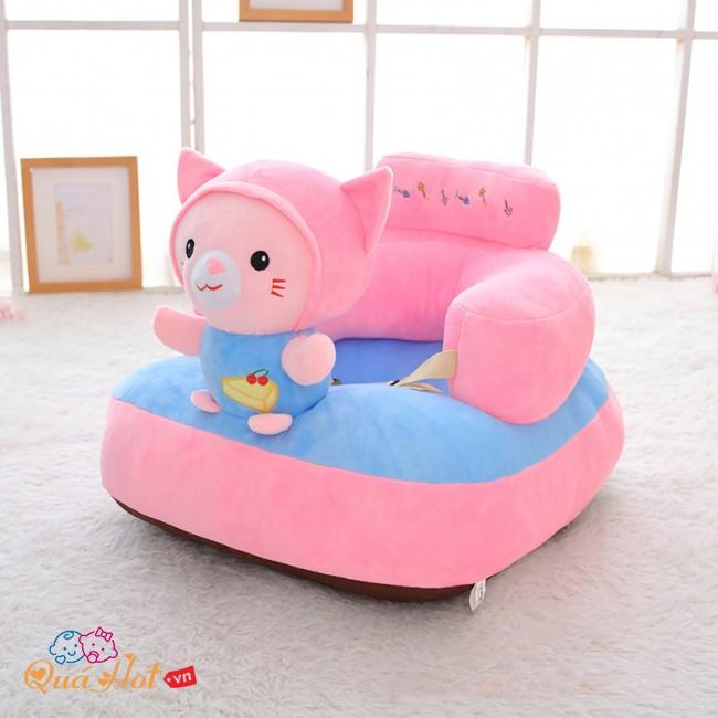 Ghế Sofa Tập Ngồi Thú Bông Cho Bé