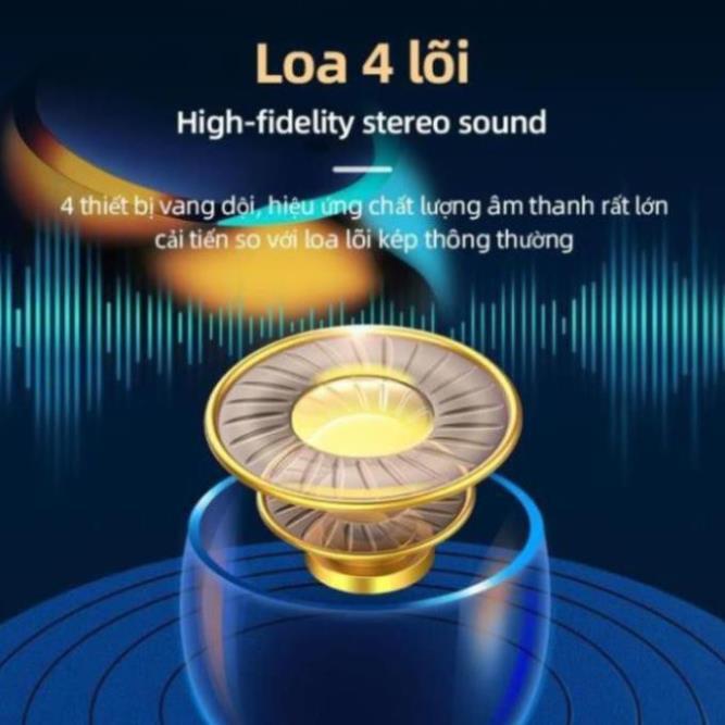 Tai nghe Bluetooth AMOI F9 - Kim Pin Sạc Dự Phòng 2000mah - Bản Quốc Tế 2020