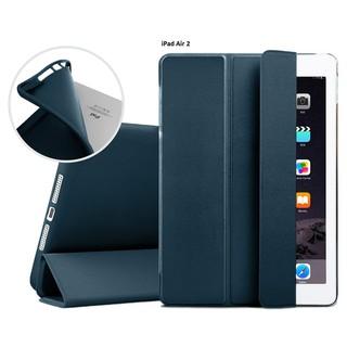 Bao da kiêm ốp lưng cho iPad Air 2(xanh đen) M2