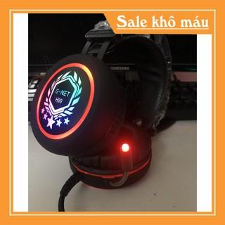 [FreeShip] Tai Nghe chụp tai G-net H99 Jack 3.5 – Đèn led đổi màu – Bảo hành 12 tháng [Ảnh Thật]
