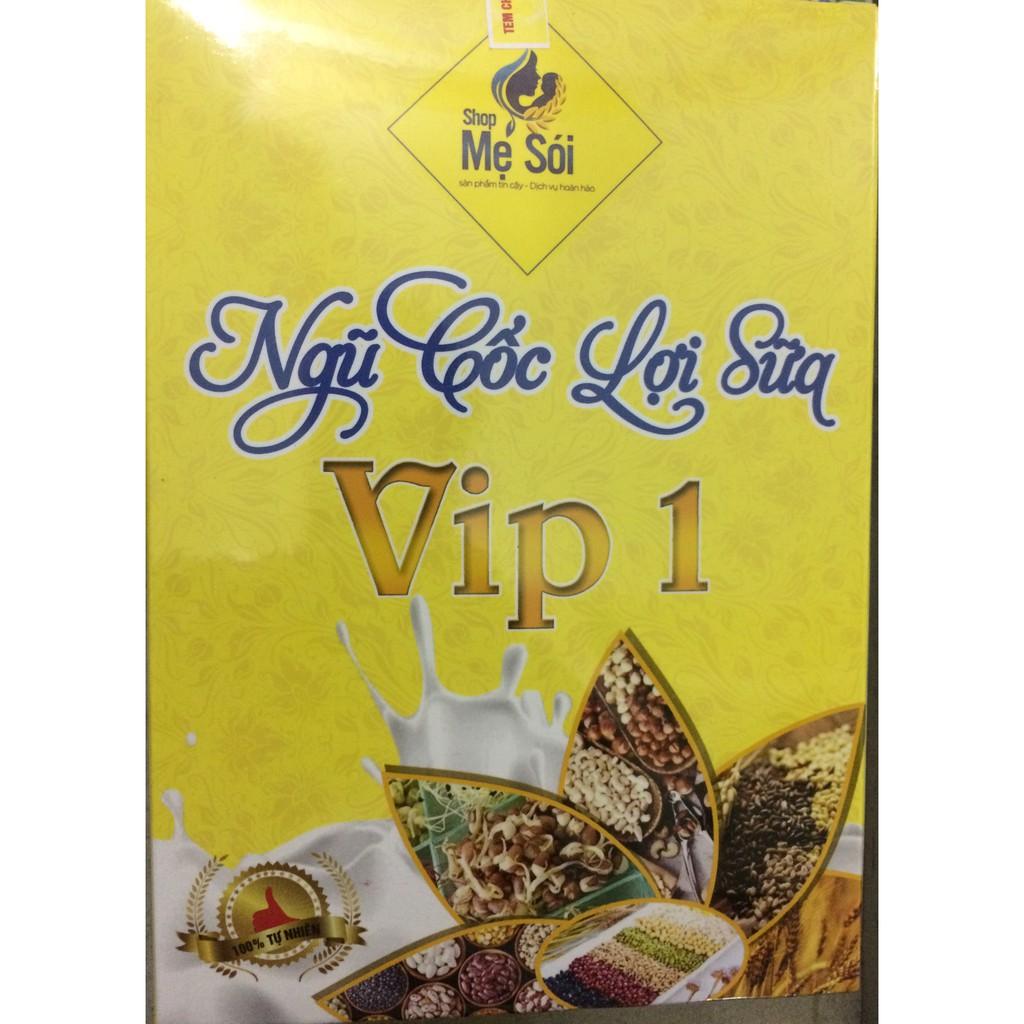 Ngũ cốc lợi sữa Mẹ Sói 1kg loại VIP 1 (14 hạt) + quà