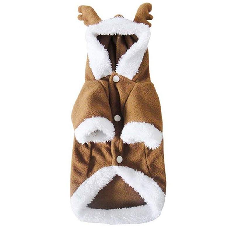 Áo khoác kiểu tuần lộc đáng yêu cho cún cưng