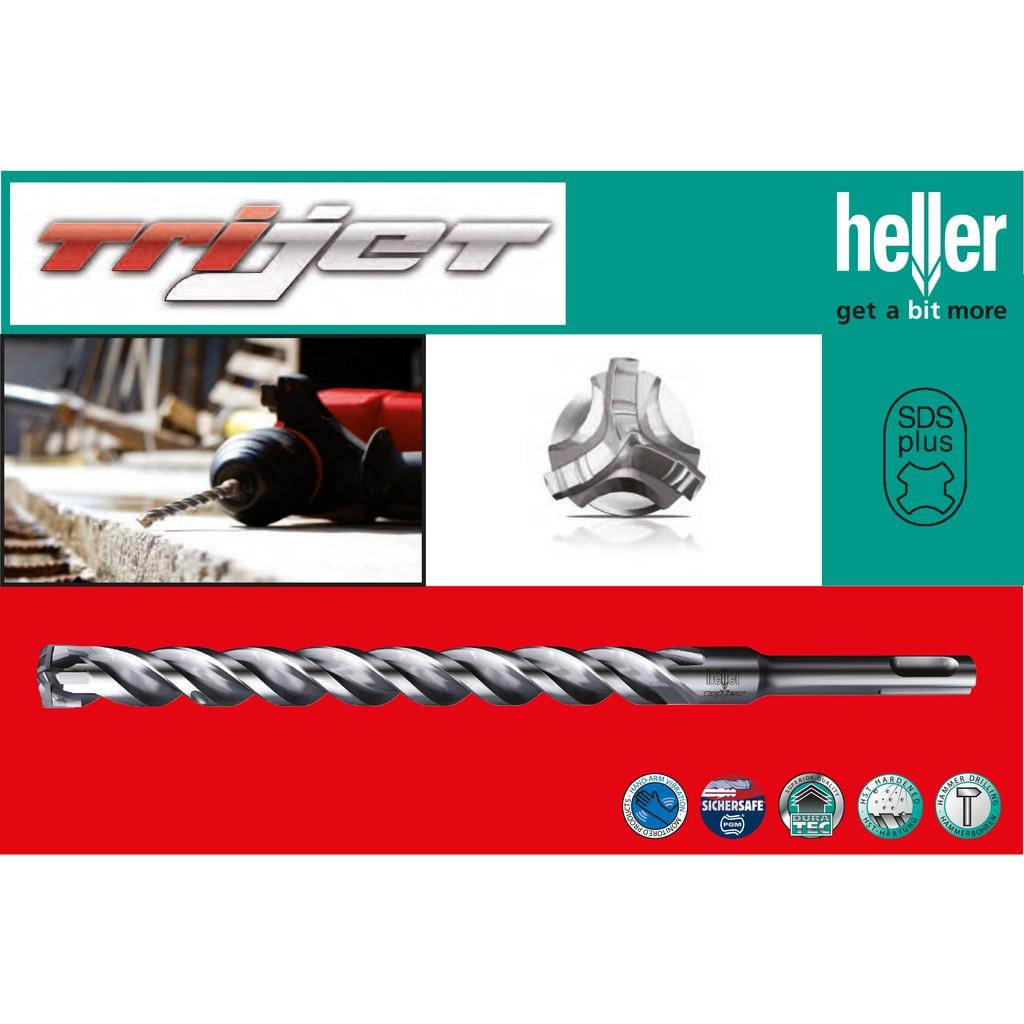 DCSG Mũi khoan bê tông Heller Trijet SDS Plus (Made in Germany) - 3444412 , 1257296736 , 322_1257296736 , 201000 , DCSG-Mui-khoan-be-tong-Heller-Trijet-SDS-Plus-Made-in-Germany-322_1257296736 , shopee.vn , DCSG Mũi khoan bê tông Heller Trijet SDS Plus (Made in Germany)