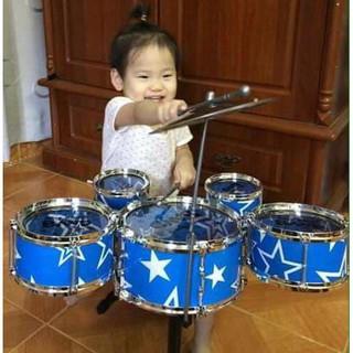 [SIÊU TIẾT KIỆM] Bộ trống Jazz Drum 5 trống cho bé yêu – CỰC HOT