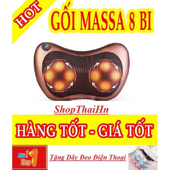 Gối masage 8 bi nhiệt hồng ngoại công nghệ Nhật Bản Loại 1 - 3360107 , 1058797054 , 322_1058797054 , 210000 , Goi-masage-8-bi-nhiet-hong-ngoai-cong-nghe-Nhat-Ban-Loai-1-322_1058797054 , shopee.vn , Gối masage 8 bi nhiệt hồng ngoại công nghệ Nhật Bản Loại 1