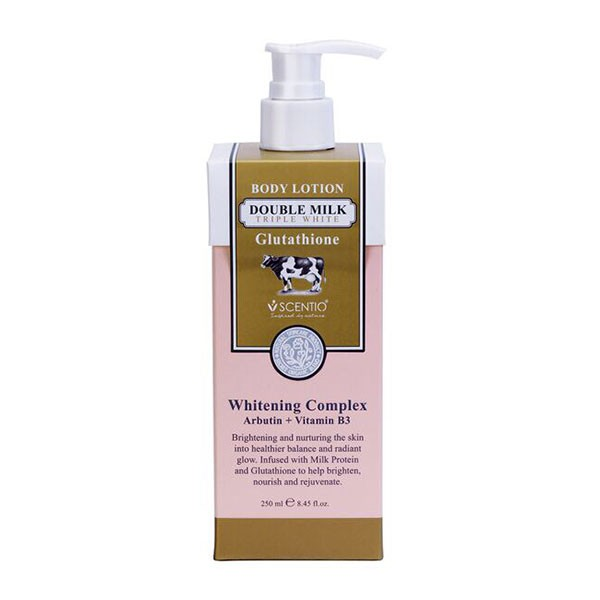 Sữa Dưỡng Thể Beauty Buffet Scentio Double Milk Triple White Body Lotion