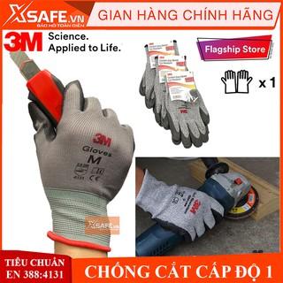 Găng tay lao động chống cắt 3M Cấp độ 1 – Găng tay bảo hộ chống đâm xuyên tiêu chuẩn EN388:4131 – Sản phẩm chính hãng