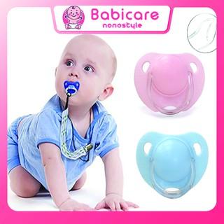 Núm Ti Giả Loại Tròn Cho Bé Sơ Sinh, 0 6 Tháng Tuổi, Núm Trợ Ti, Núm Vú Giả An Toàn Cho Bé Không Chưa BPA thumbnail