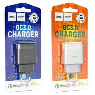 Cốc, bộ sạc nhanh Hoco c72Q c12Q hỗ trợ Quick charge 3.0 18W thumbnail