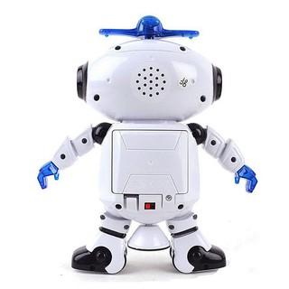 [Hot] [Nhập mã TOYOCT giảm 10% tối đa 15K đơn từ 50K]Robot Biết Nhảy Và Hát Xoay 360 Độ US04019 (Free Ship Trên 99k)