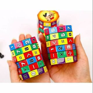 Rubik toán học vừa học vừa chơi cho bé 20k
