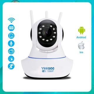 Camera IP WIFI trong nhà dùng app Yoosee X8100 3 anten 2.0MP Chuẩn Full HD 1080P