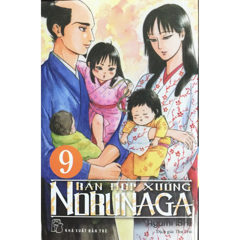 Sách - Truyện Tranh - Bản Hợp Xướng Nobunaga (Tập 9 - Cập Nhật Liên Tục)