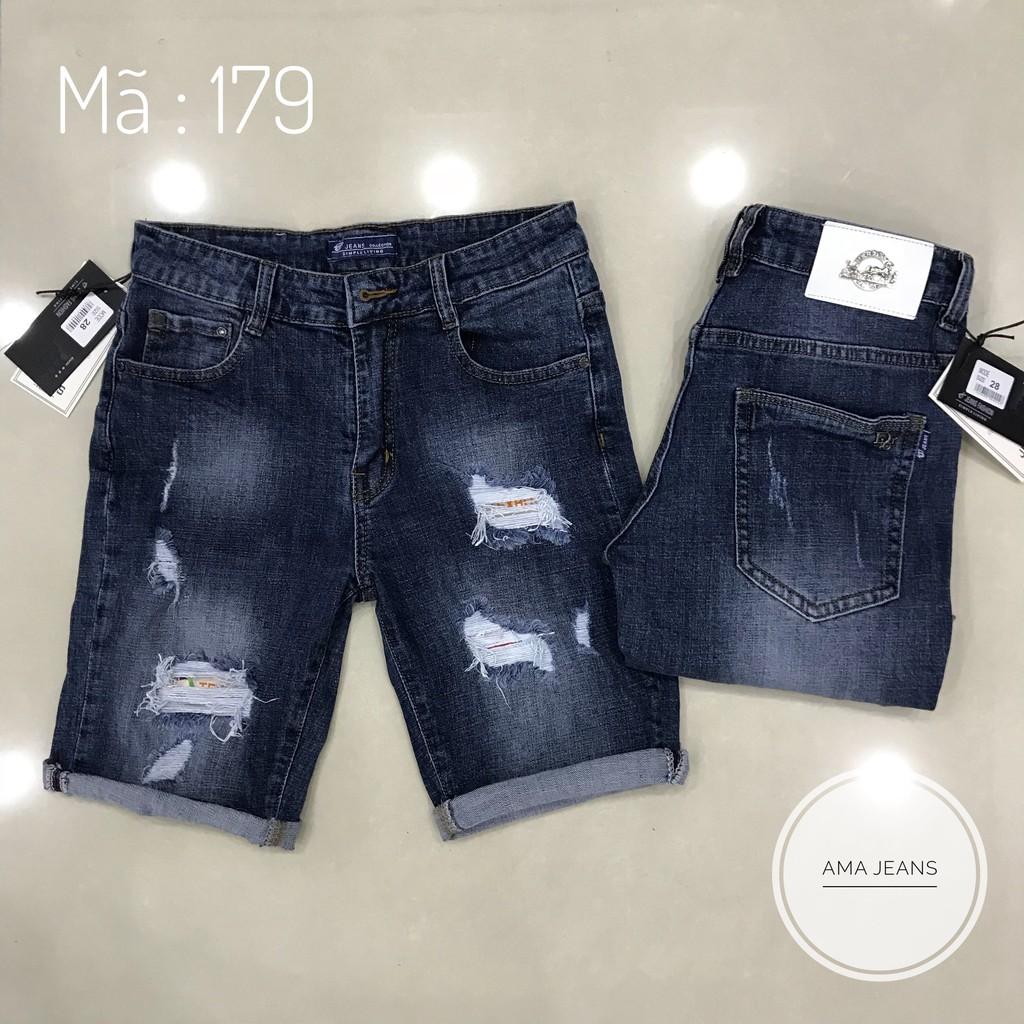 Quần short thời trang - short jean nam Quần short