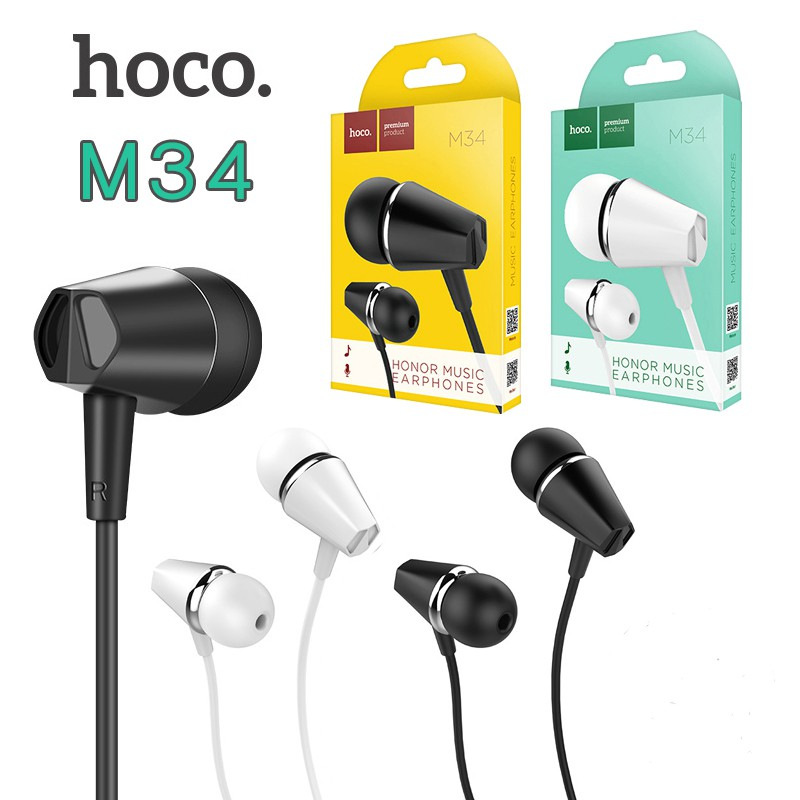 Tai nghe điện thoại cao cấp Hoco M34