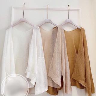 Sỉ Áo khoác cardigan mỏng💋Quảng Châu l1💋 chất dệt kim