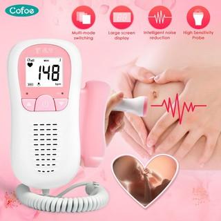 Máy đo nhịp tim doppler Cofoe dành cho mẹ bầu được phê chuẩn FDA CE thumbnail