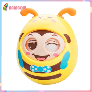 [RAINBOW] Safety Roly-Poly Tumbler Infant Baby Toys Best Gifts Tummy Time Toys
