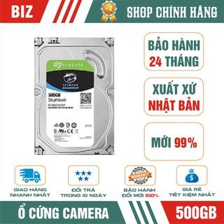 Ổ cứng camera HDD 500GB Seagate Skyhawk - Bảo hành 24 tháng 1 đổi 1