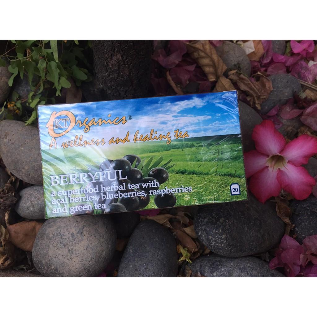 Trà quả mọng Organic Tea Berryful 36g (A) Trà quả mọng Organic Tea Berryful 36g (A)