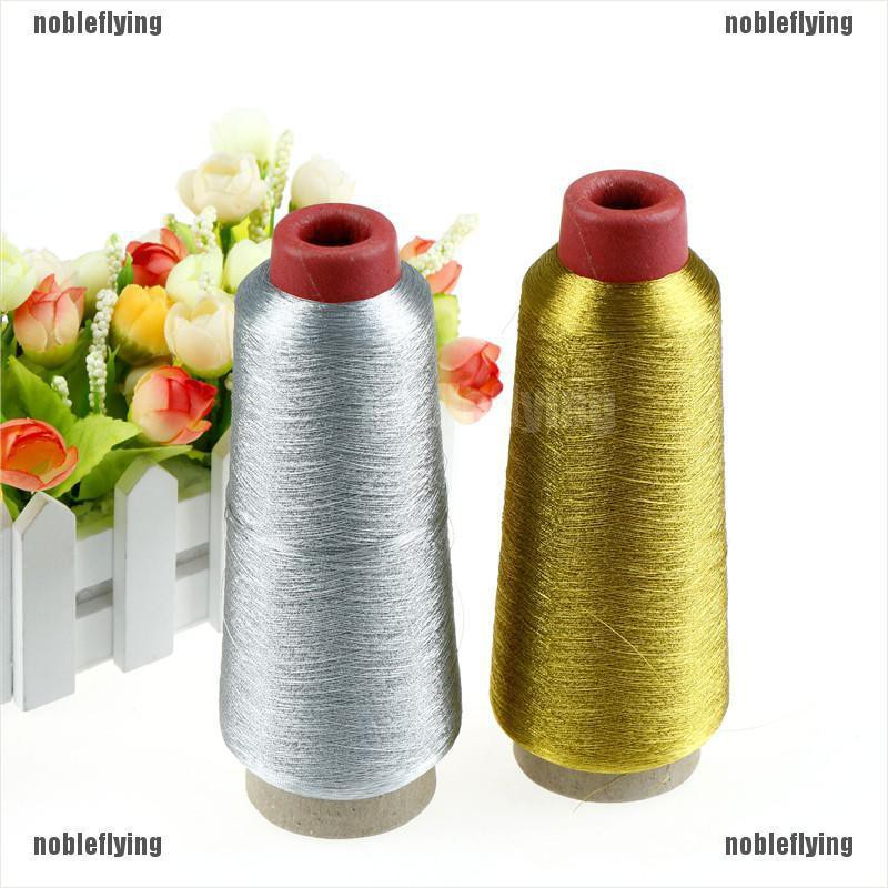 【COD•nobe】Gold/Silver Computer Cross-stitch Embroidery Threads 3000M Sewing Th