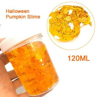 Hallowmas Sequins Crystal Slime Toy Squishy Stress Relief Kids Clay Toy Mud