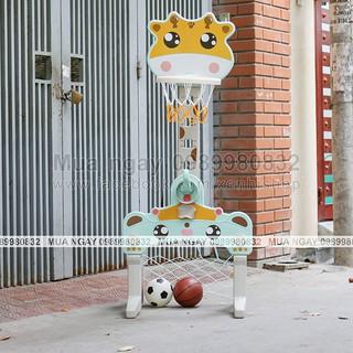 Bộ chơi NOSA bóng rổ, bóng đá, nèm vòng kết hợp (kèm 2 bóng và vòng)