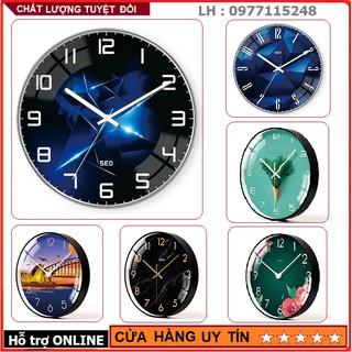 Đồng Hồ Treo Tường Kim Trôi Sang Trọng, Nhiều Mẫu