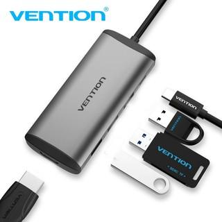 Thiết bị kết nối đa cổng Vention chuyển đổi USB Type C sang 4K HDMI 5 trong 1 cổng sạc PD USB 3.0