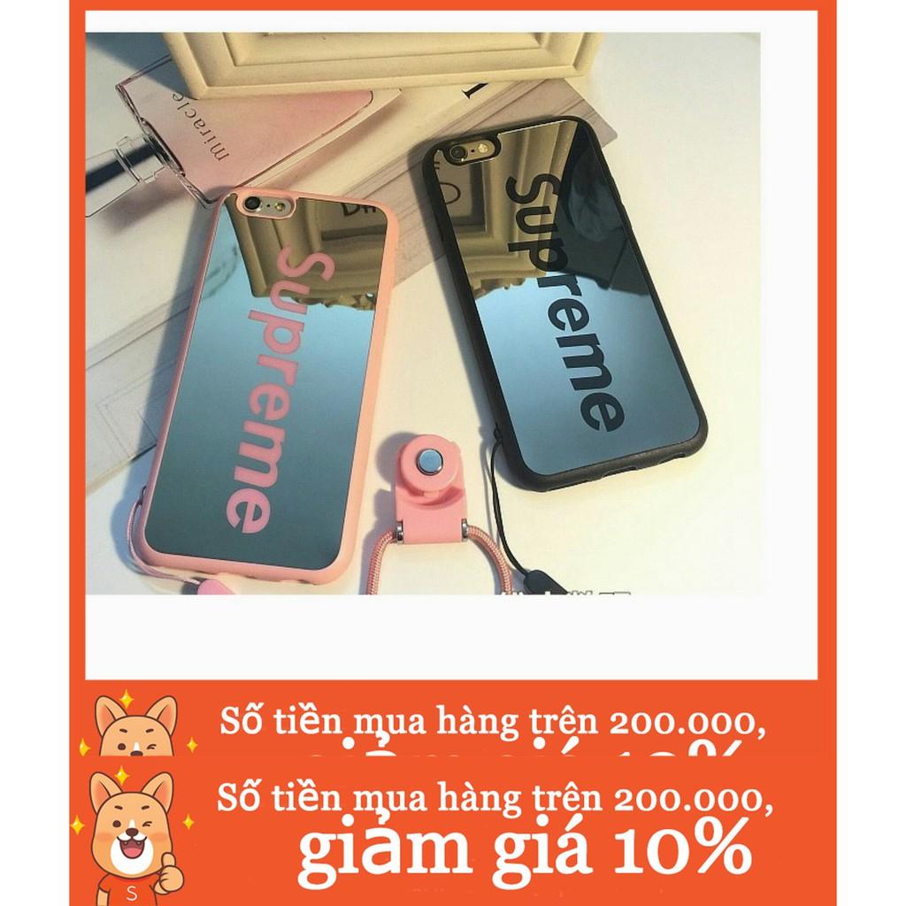 Supreme Mirror Soft TPU Casing for Apple iPhone 8 Plus 7Plus 6sPlus iPhone X