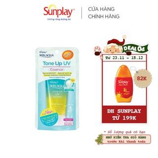 """[Mã COSRSO - 8% ĐH 199K]Tinh chất chống nắng dưỡng ẩm nâng tông che khuyết điểm Sunplay Skin Aqua Tone Up UV Essence giá chỉ còn <strong class=""""price"""">13.900.000.000đ</strong>"""