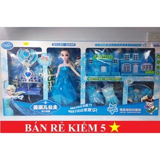 Hộp đồ chơi Công chúa Elsa, Công chúa tuyết Elsa cho bé.