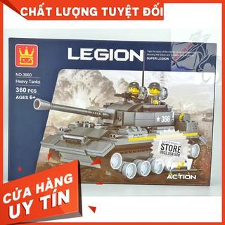 [HOT]Lego Wange 3660 Lắp Ráp Xe Tăng Hạng Nặng – Heavy Tank ( 360 Mảnh )-Hàng Có Sẵn