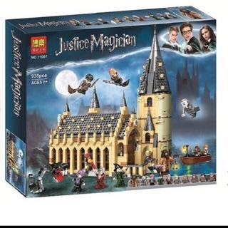 Lắp ráp Harri poter 11007 – Lâu đài Hogwarts -938 pcs