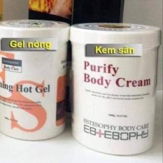 Kem săn chắc thon gọn cơ thể estesophy chuyên dùng trong spa thẫm mỹ viện