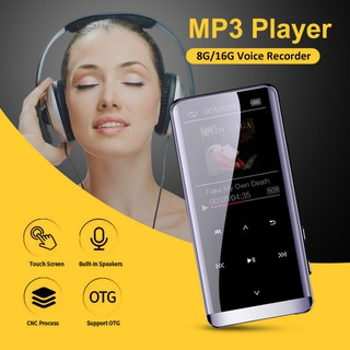 MP3/MP4 8G Portable For Bluetooth Player FM Radio 1.8inch Touch Screen HIFI OTG Music Playing