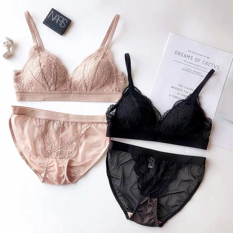 Bộ đồ lót Pinkdear không gọng mút mỏng M1 - B | BigBuy360