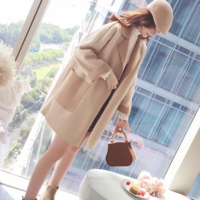 Áo khoác dạ chất đẹp thời trang ( coi kĩ ảnh thật phía cuối )