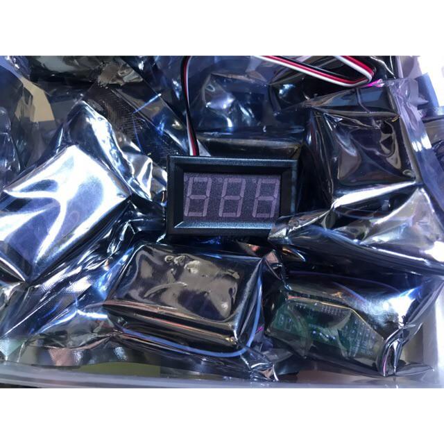 Đồng hồ số đo điện áp V (Voltage)