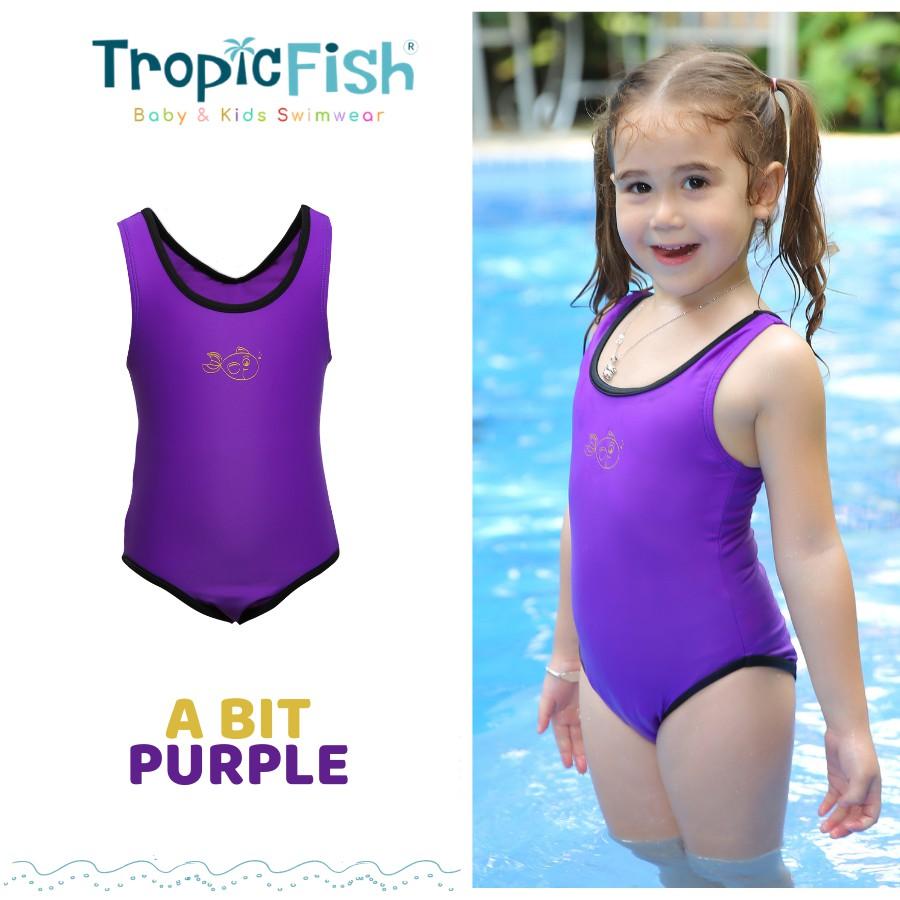 TropicFish Abit Purple - Đồ bơi chống nắng cao cấp cho bé
