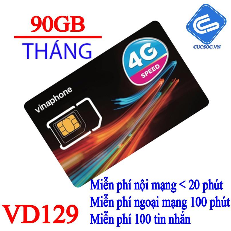 Sim 4G Tặng 90GB/Tháng+Gọi miễn phí toàn quốc gói VD129 Vinaphone - 2964670 , 1274646085 , 322_1274646085 , 20000 , Sim-4G-Tang-90GB-ThangGoi-mien-phi-toan-quoc-goi-VD129-Vinaphone-322_1274646085 , shopee.vn , Sim 4G Tặng 90GB/Tháng+Gọi miễn phí toàn quốc gói VD129 Vinaphone