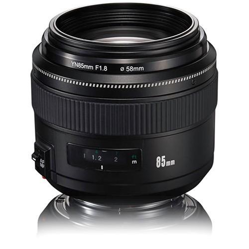 Ống kính Yongnuo EF 85mm f1.8 for canon tặng bút lau ống kính