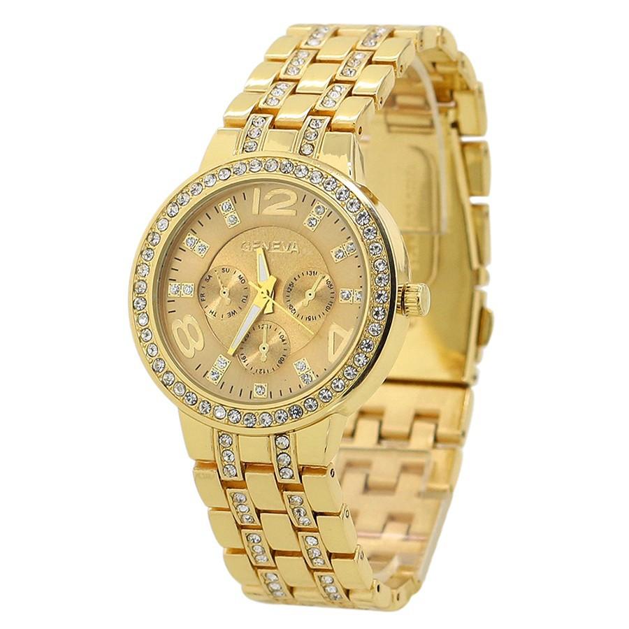 Đồng hồ đính đá sang trọng cho nữ