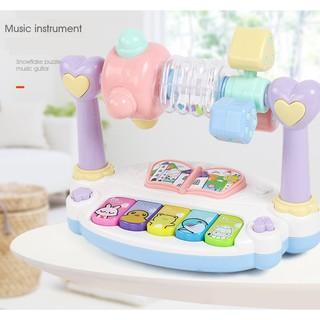 đồ chơi phát nhạc và học kỹ năng cho bé