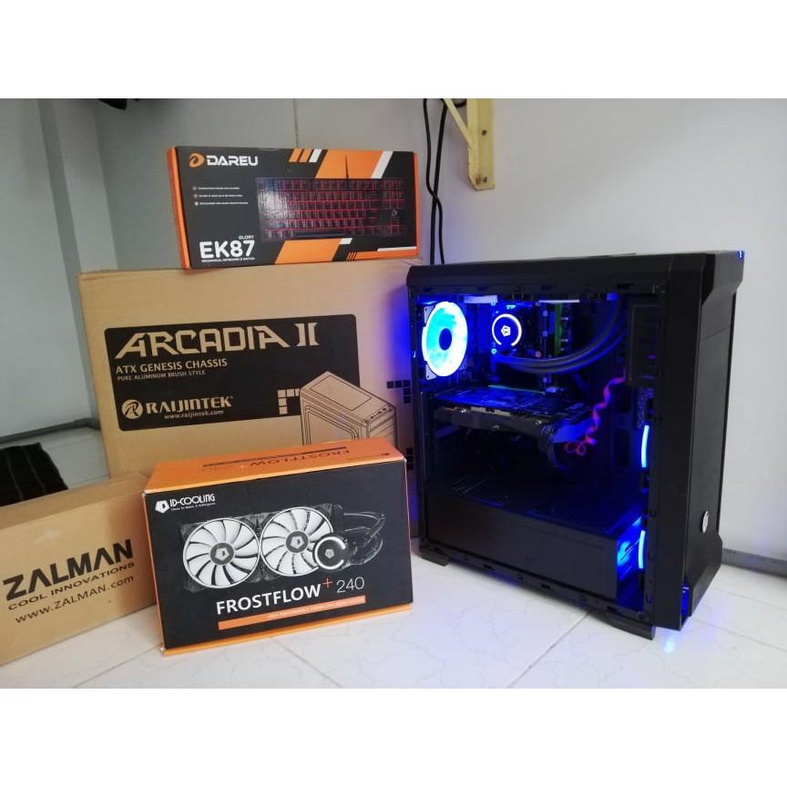 [Nhập mã giảm 50k GADIBU50] Case máy tính RAIJINTEK ARCARDIA II New 100% xả hàng giá rẻ Giá chỉ 450.000₫